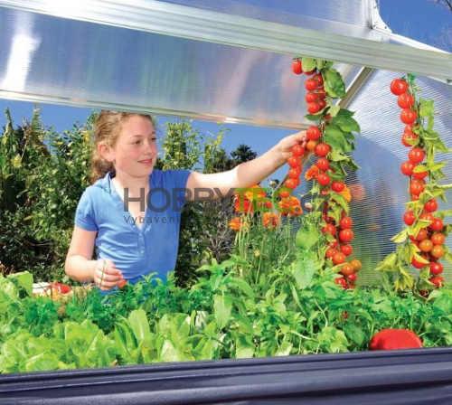 Zvýšený miniskleník pro pěstování rajčat zeleniny a salátů