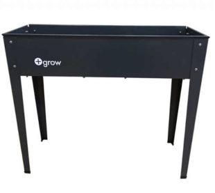Černý pěstební stůl na zahradu