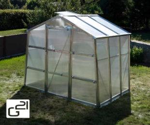 Malý zahradní skleník 2,5 x 2 m