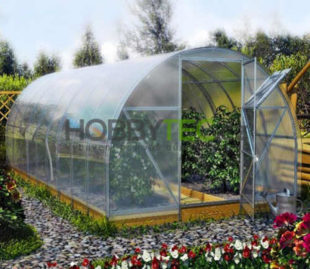 Menší obloukový skleník Agro 3 x 2 m
