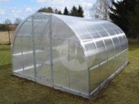 Obloukový polykarbonátový skleník LANITPLAST KYKLOP 3x6 m