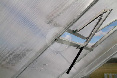 Střešní ventilační okénko skleníku