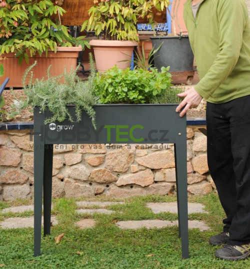 Vyvýšený pěstebník na bylinky