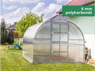 Kvalitní polykarbonátový skleník s těsnící sadou