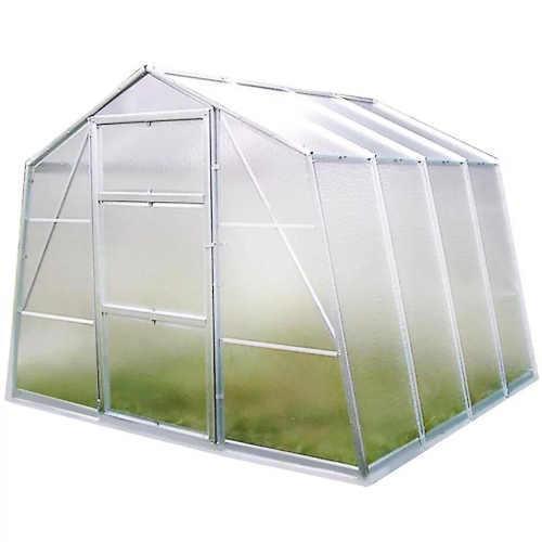 Moderní a praktický skleník na zahradu