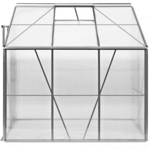 boční polykarbonátový prostorný skleník