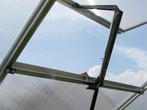 otvírač automatický na střešní okna skleníku