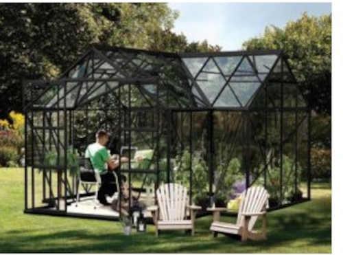 polykarbonátový velký zahradní skleník