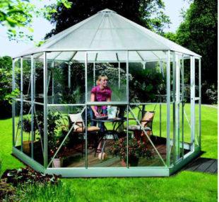 praktický a moderní zahradní pavilon