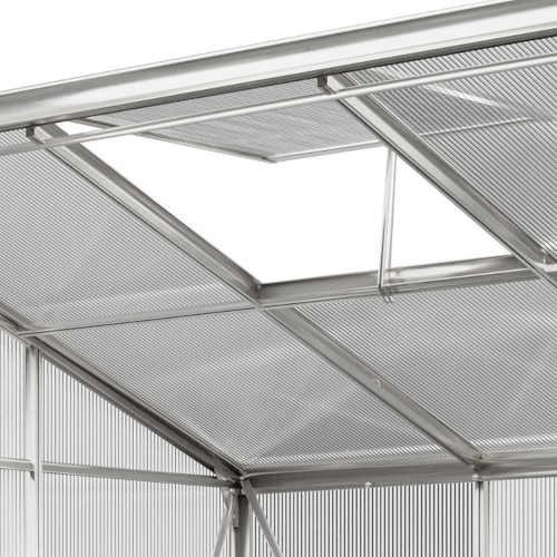 praktický boční typ polykarbonátového skleníku