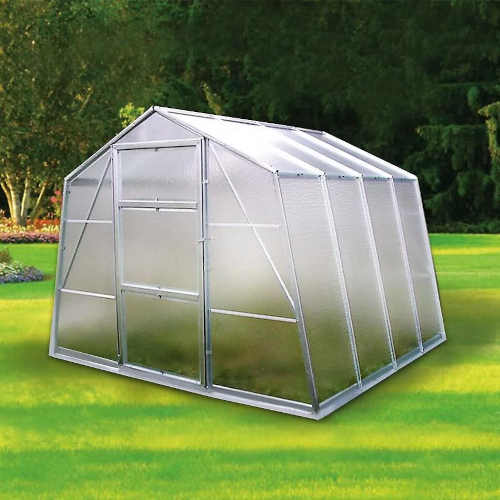 prostorný odolný skleník na zahradu