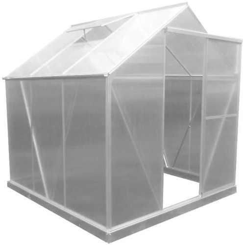 skleník polykarbonátový s hliníkovou konstrukcí