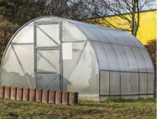 Obloukový zahradní skleník 4x3 m