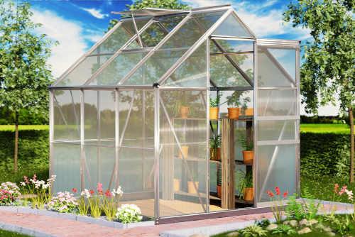 Praktický zahradní skleník v kvalitním provedení