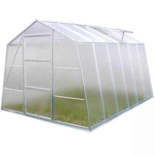 Skleněný praktický zahradní skleník