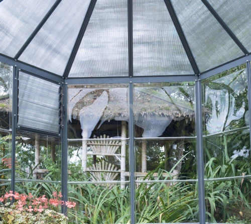 Zahradní pavilon na zahradničení i posezení
