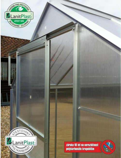 kvalitní klasický zahradní skleník