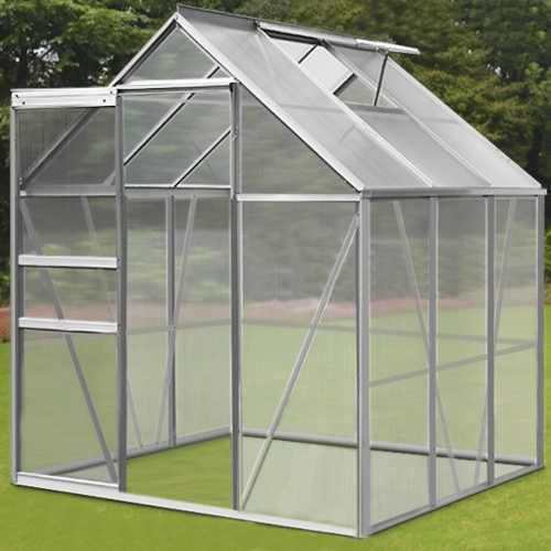 kvalitní polykarbonátový zahradní skleník