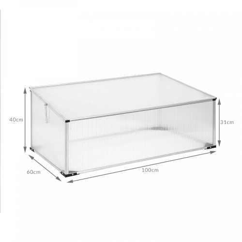 praktický skleník menšího rozměru