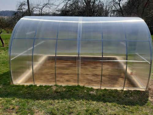 skleník Dekorhome z polykarbonátu