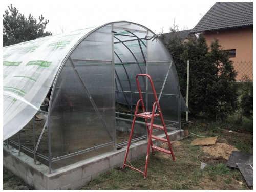 zahradní skleník volya LLC